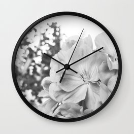 Flower Cascade  Wall Clock