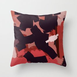 Get close to hot air Throw Pillow