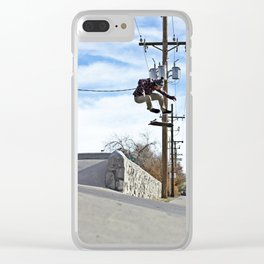 Kickflip to Street Clear iPhone Case