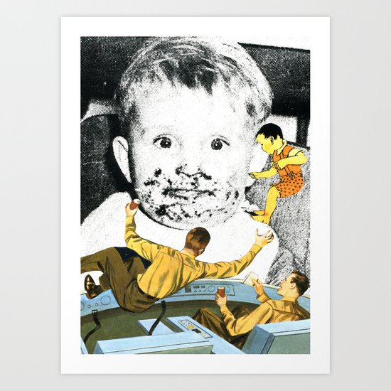 Searching For Lost Youth Art Print