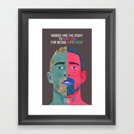 I'm Not A Joke  Framed Art Print
