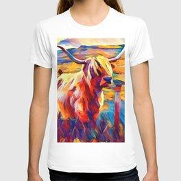 Highland Cow 4 T-shirt