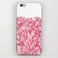 beard iPhone & iPod Skins featuring Beard. by Raquel  Carrero .