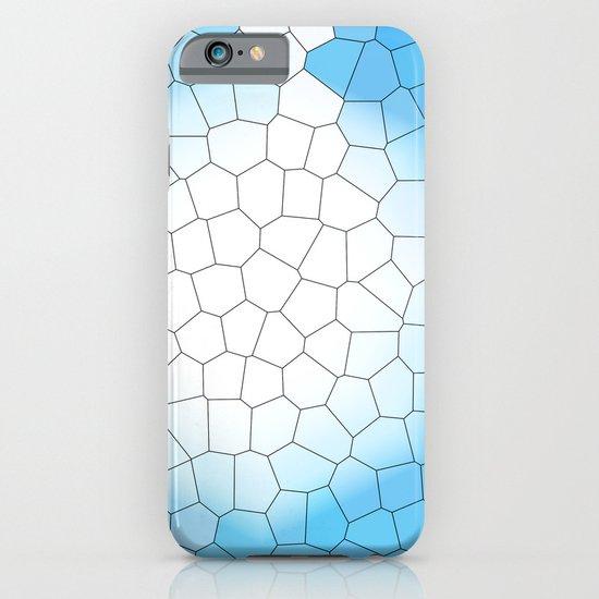 IRREGULAR LIGHT BLUE iPhone & iPod Case
