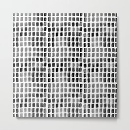 Brushstrokes 1l by Kathy Morton Stanion Metal Print