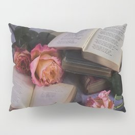 Romantic Reading Pillow Sham