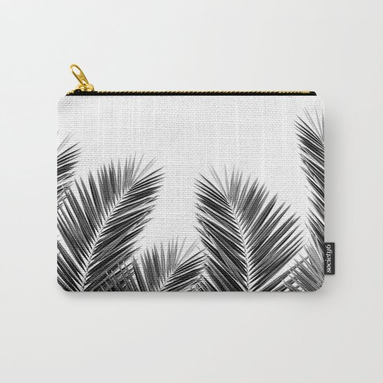 White Palm Skies Carry-All Pouch