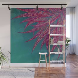 Agave psychedelic colors Wall Mural