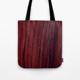 Deep red wood veneer design Tote Bag