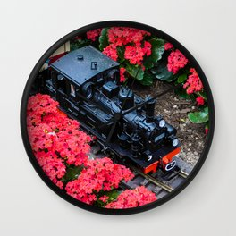 Choo Choo Wall Clock