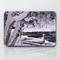 finland iPad Cases featuring Winter in Finland by Guna Andersone & Mario Raats - G&M Studi