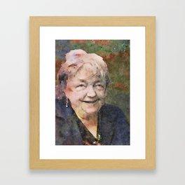 Maeve Binchy 1939-1912 Framed Art Print