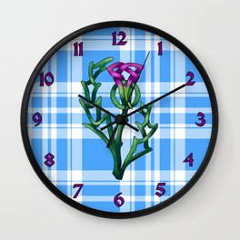Thistle Wall Clock