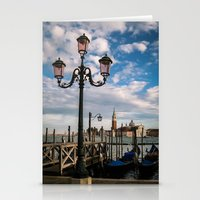 venice Stationery Cards featuring Venice by Michelle McConnell