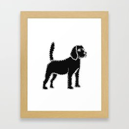 I have Connected the Beagle Doggy Dots! Framed Art Print