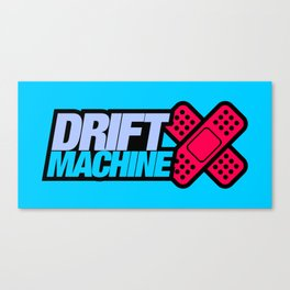 Drift Machine v4 HQvector Canvas Print