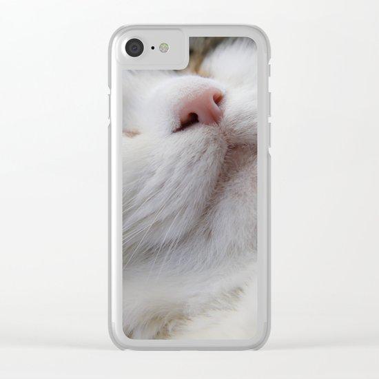 Cat I Clear iPhone Case