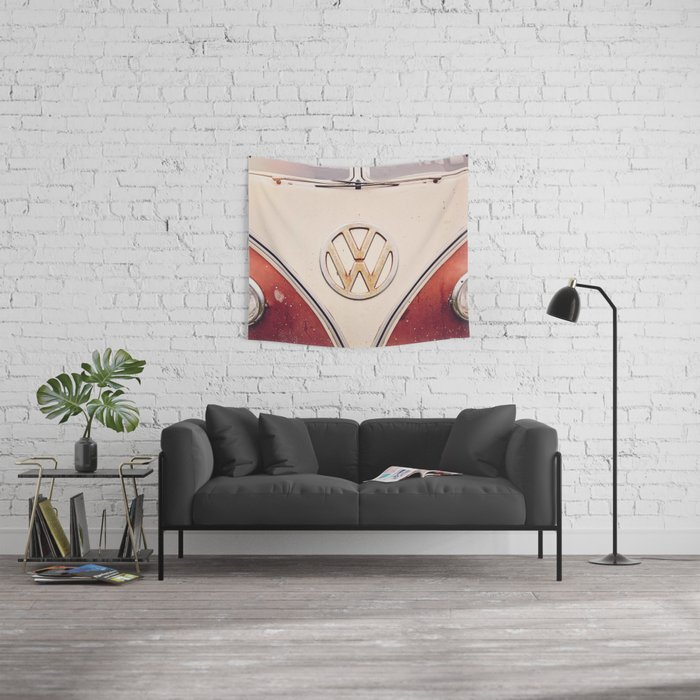 VDub Love Wall Tapestry