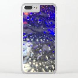 Car Wash Raindrops Clear iPhone Case