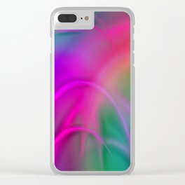 abstract lighteffects  -2- Clear iPhone Case