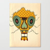 balloon Canvas Prints featuring Balloon by Johan Renklint