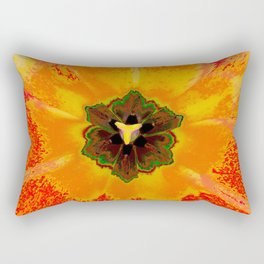 Extreme Tulip Rectangular Pillow