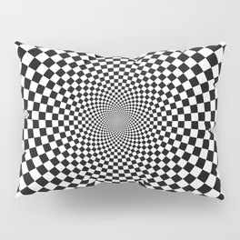 Vertigo Optical Art Pillow Sham