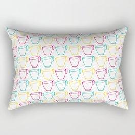 Cups Rectangular Pillow