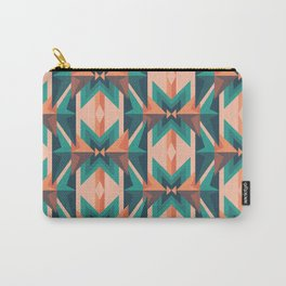 Low Poly Desert Bloom Carry-All Pouch