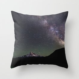 Summer Stars at Lost Lake - Nature Photography Throw Pillow