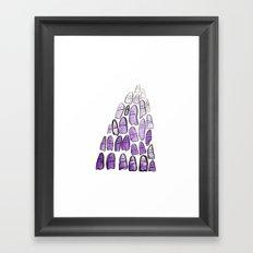 Ghost Mountain Framed Art Print
