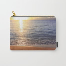 Tropical Sunset Reflecting On Ocean Surface Carry-All Pouch