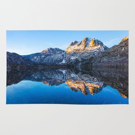 Silver Lake Sunrise, Eastern Sierra Nevada Rug