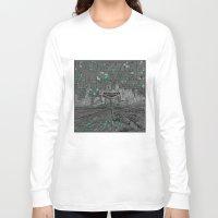 las vegas Long Sleeve T-shirts featuring las vegas by Bekim ART