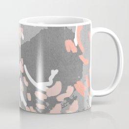 Penny - millennium pink and grey abstract canvas large art decor dorm college nursery Coffee Mug