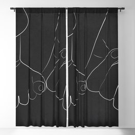 Promise for the Times Ahead II Blackout Curtain