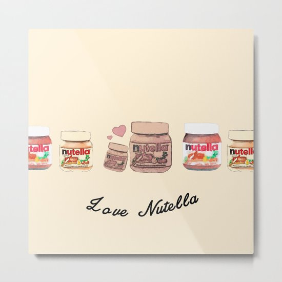 Nutella-324 Metal Print