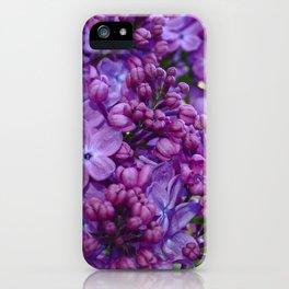 Lilac Paradise iPhone Case