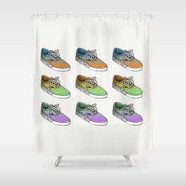 Sneakers II Shower Curtain