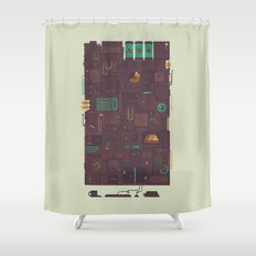 AFK Shower Curtain