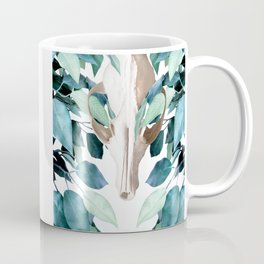 Fox into the Greenery Coffee Mug