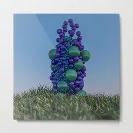 Bubbleflower Metal Print