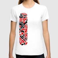 maori T-shirts featuring Maori Kowhaiwhai Patchwork Pattern by mailboxdisco