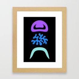 Eye Blob Enn Framed Art Print