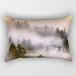 Misty Mount Tamalpais State Park Rectangular Pillow