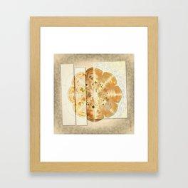 Upshifting Unconcealed Flowers  ID:16165-105815-13851 Framed Art Print