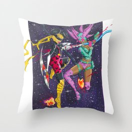 Social Media Assassins Throw Pillow