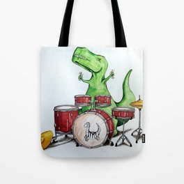 Tommy Can't Play the Drums Tote Bag