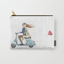 Love&Vespa Carry-All Pouch