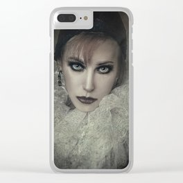 Pierrot Clear iPhone Case